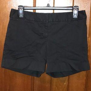 Express Cuffed Black Shorts Size 2